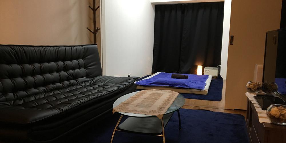 綺麗なサロンの施術室写真