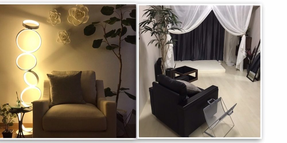 アロマドール広島の施術室写真